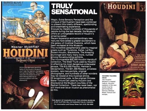 Houdini Museum 1980-2