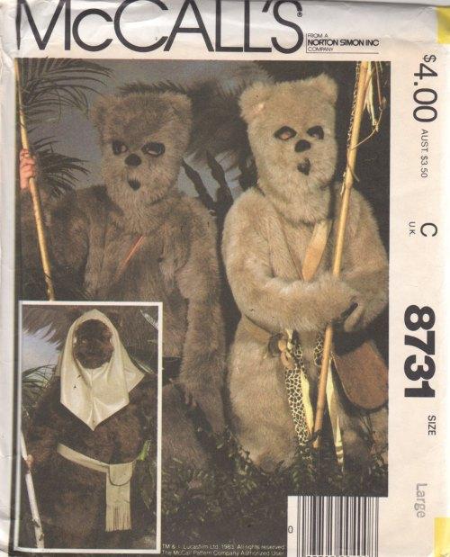 Mccalls ROTJ 1983