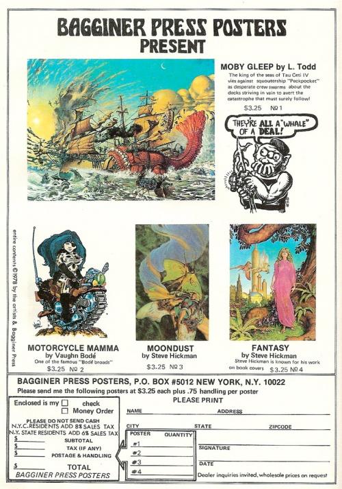 Moby Gleep Ad Circa 1978