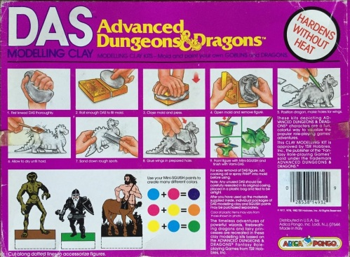AD&D Modelling Clay-2