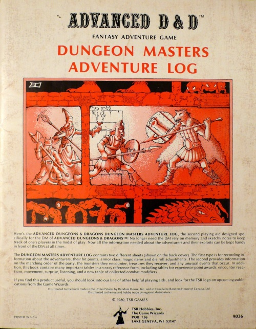 D&D Adventure 1980
