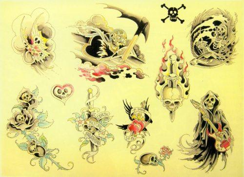 Irons Tattoos 1983-2