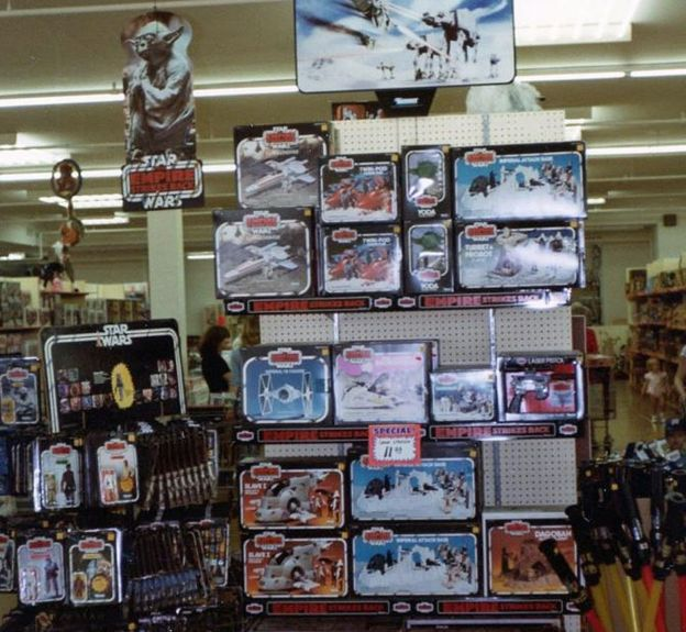 Star Wars Toys 1980s : Toy aisle zen  the empire strikes back and