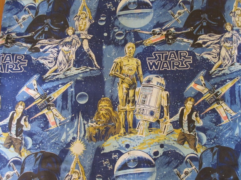Star Wars Bedding, 1977/1978 » SW Bed Sheets Sears 1977