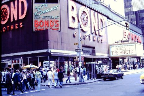 Times Square 1977-2